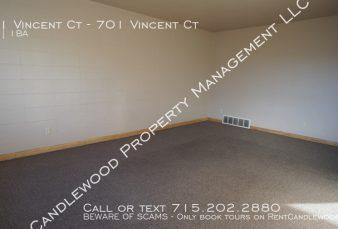 Three Bedroom Duplex Available Now!