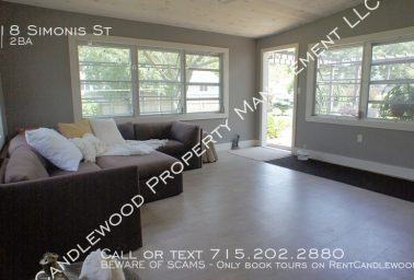 Beautiful 3 Bedroom Single Family Furnished Home Available Now!