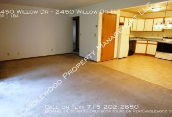 Cat Friendly 2 Bedroom Upper Apartment Available February 1st!