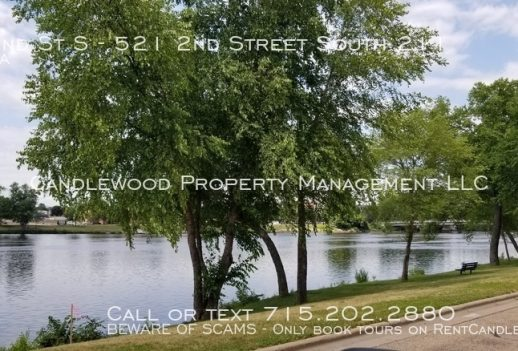 1 Bedroom Apartment on the Water Available NOW!