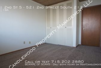 2 Bedroom Apartment on the Water Available NOW!