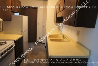 Affordable 1 Bedroom Apartment Available!