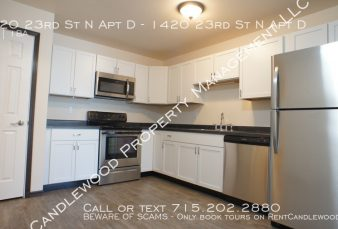 2 Bedroom Upper Apartment with a Garage Available January 1st!