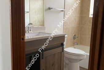 Pet Friendly 2 Bedroom/ 1 Bathroom Lower Apartment Available NOW!